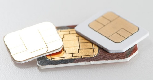 micro and normal sim card