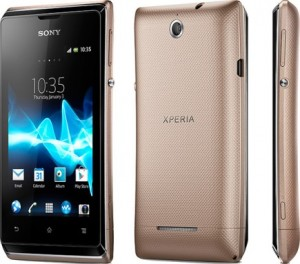 Sony Xperia E: Android Jelly Bean