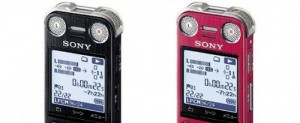 sony voice recorders
