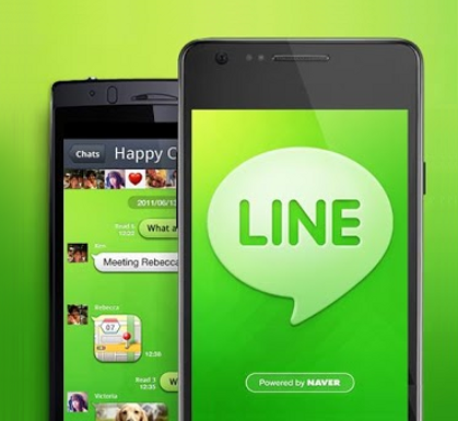 Line and WeChat