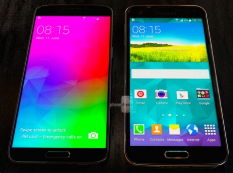 New images from Samsung Galaxy F, which will be almost non-existent edges