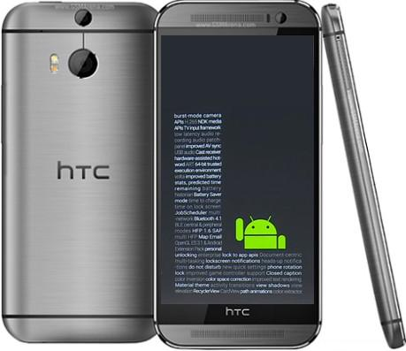 Android L for HTC One(