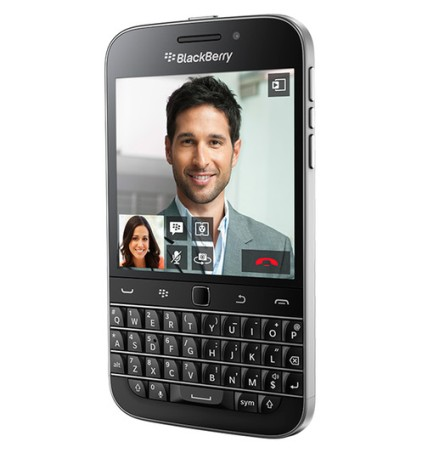 BlackBerry Classic officially presented: A nod to tradition