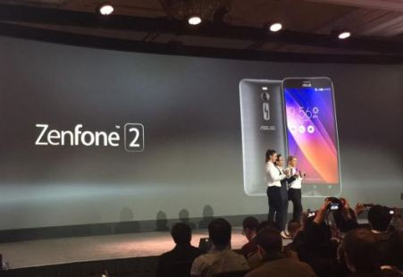 If the previous model was not called to attention, the Zenfone 2 will do it