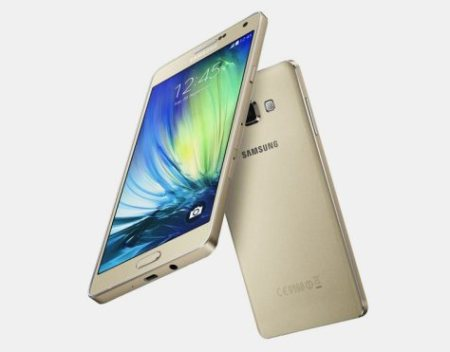 Galaxy A7 is the new ultra-thin 5.5 inch smartphone from Samsung