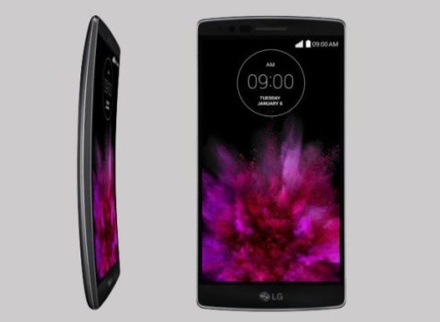 LG G Flex 2 unveiled: The first Snapdragon 810 comes with curves