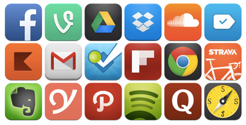mobile apps – the number of global app downloads in 2015