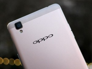 Chinese smartphone Oppo R9